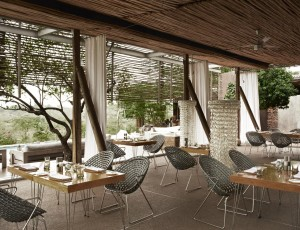 Singita Lebombo Lodge Dining Area